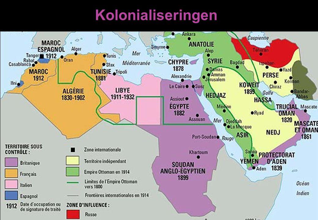 Kolonialiseringen