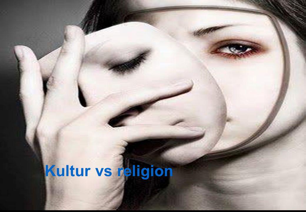 Kultur vs religion