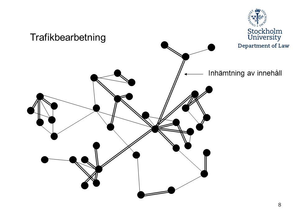 19 Två olika tekniker för informationsutvinning (Data mining) 1.Subjektbaserad informationsutvinning (Subject-based data mining) 2.Mönsterbaserad informationsutvinning, även kallat mönsterigenkänning (Pattern-based data mining) U.S.