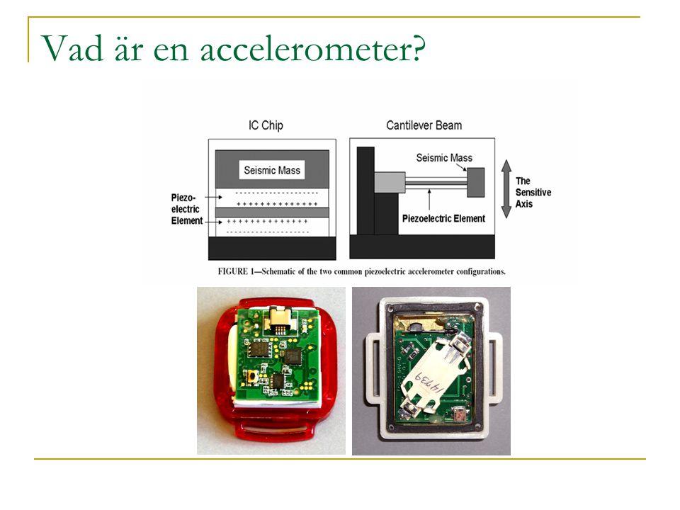 Vad är en accelerometer