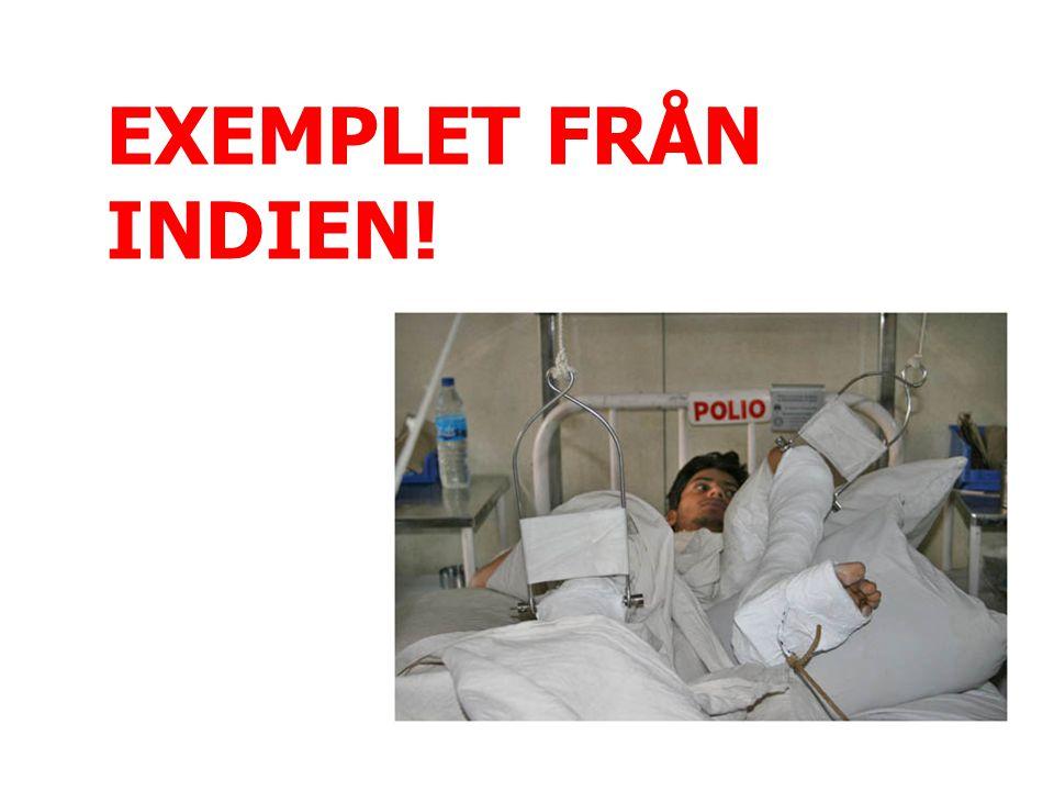 EXEMPLET FRÅN INDIEN!