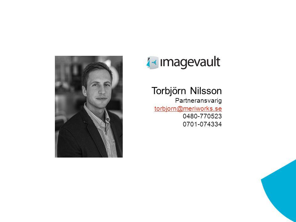 Torbjörn Nilsson Partneransvarig torbjorn@meriworks.se 0480-770523 0701-074334