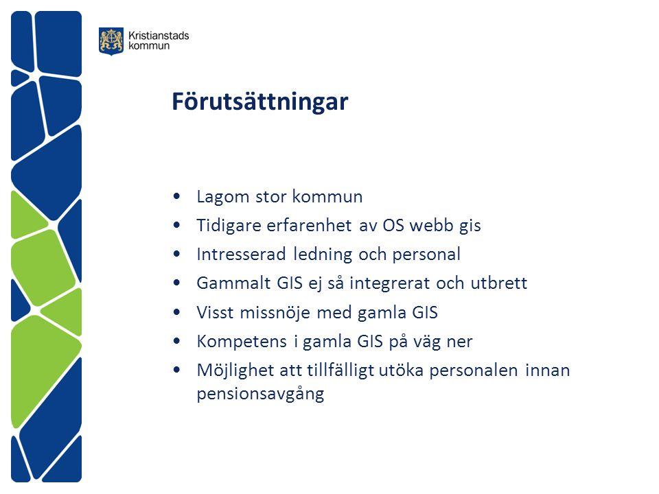 Vad använder vi QGIS till i Kristianstad.