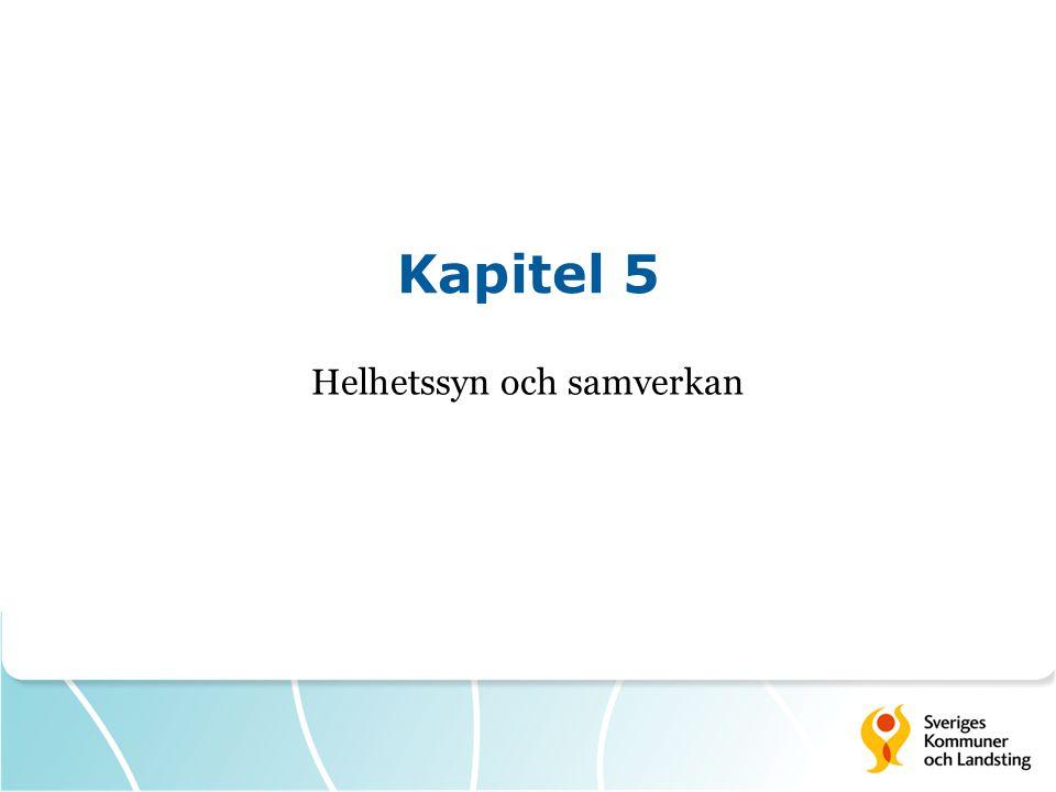 Kapitel 5 Helhetssyn och samverkan