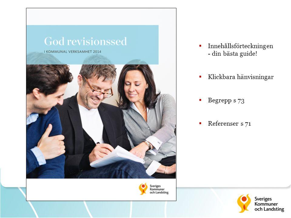 Kapitel 1 God revisionssed – utgångspunkter