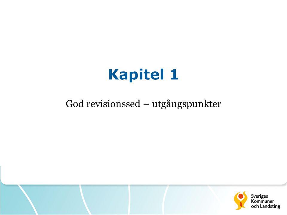 God revisionssed God revisionssed är de goda principer och föredömliga tillvägagångssätt som är allmänt vedertagna där revision utförs.