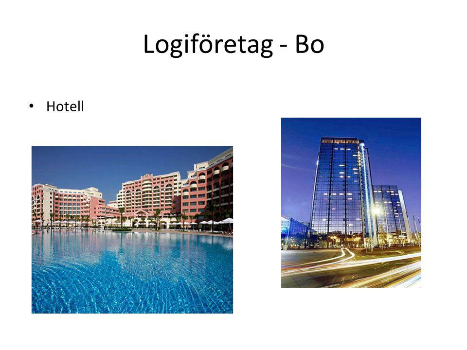 Logiföretag - Bo Hotell