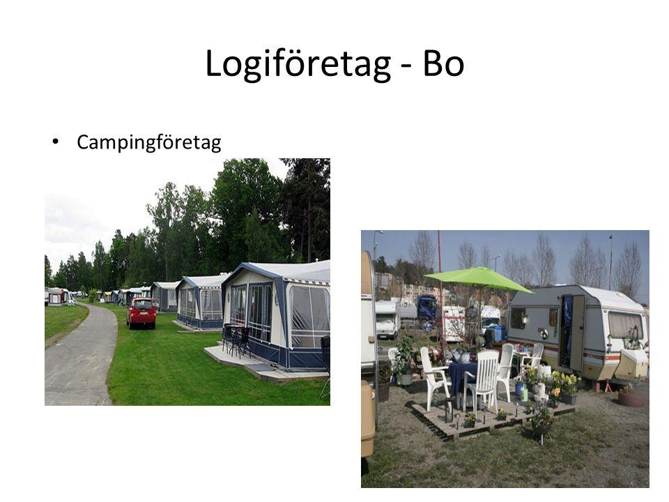 Logiföretag - Bo Campingföretag