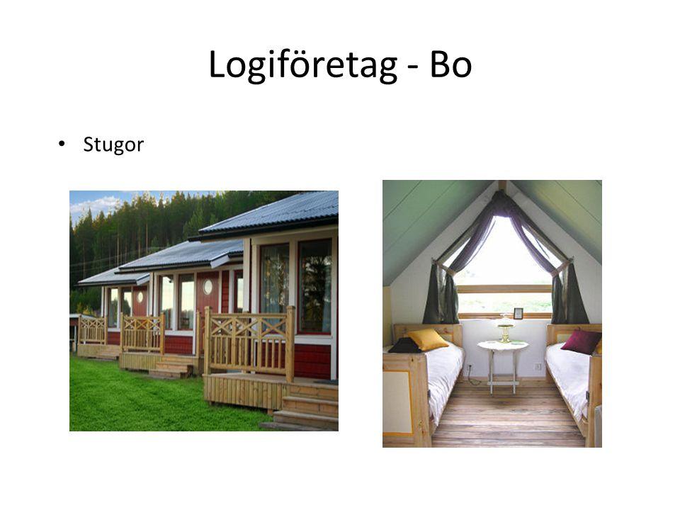 Logiföretag - Bo Stugor