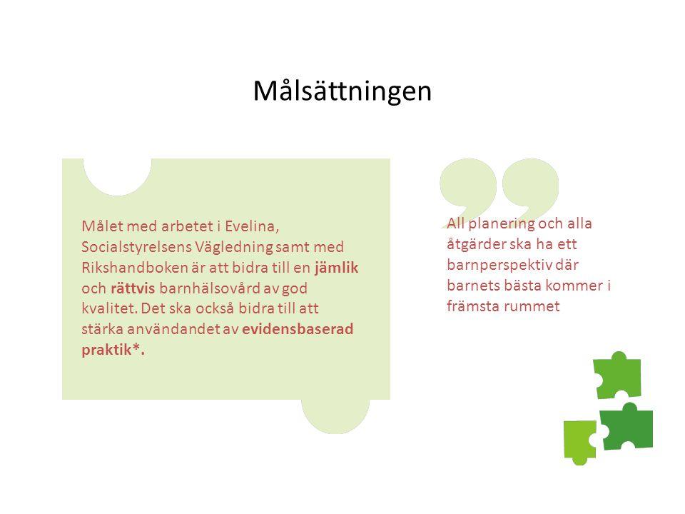 Nyckeltal, antal barn under 1 år per BVC sjuksköterska.
