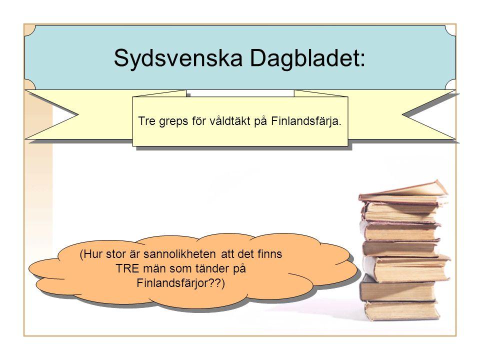 Tre greps för våldtäkt på Finlandsfärja.