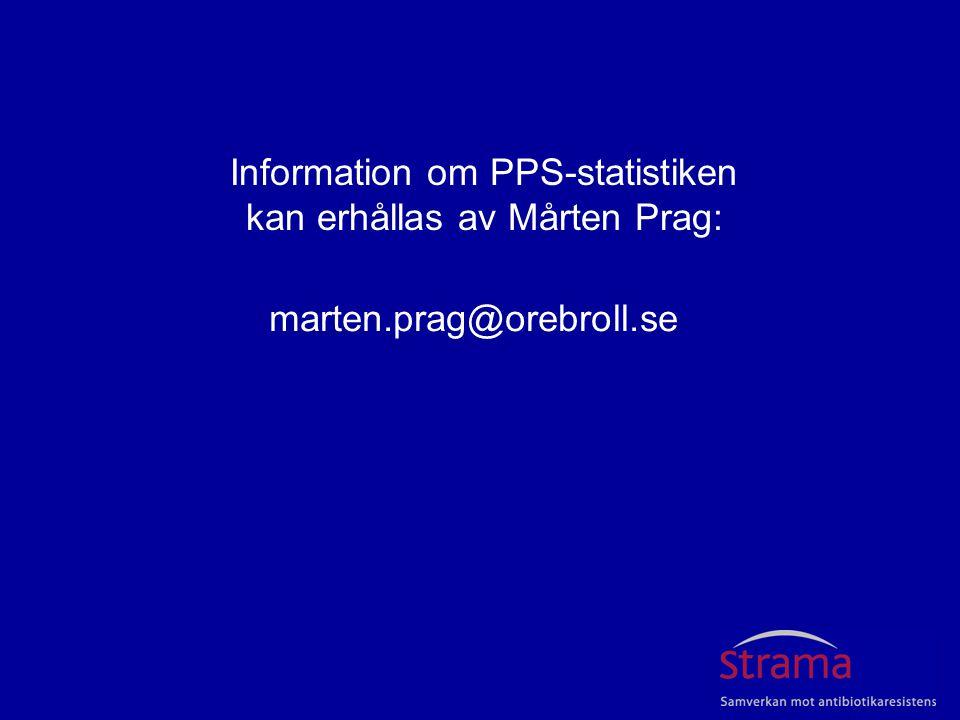 Information om PPS-statistiken kan erhållas av Mårten Prag: marten.prag@orebroll.se