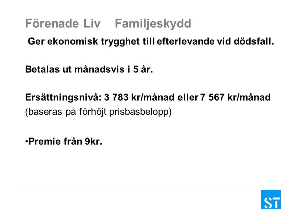 Trygg-Hansa Olycksfallsförsäkring för vuxen Ersätter ekonomisk och medicinsk invaliditet samt sveda och värk och övriga kostnader.
