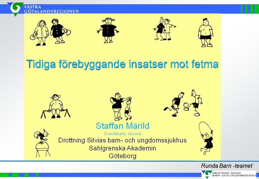 Sammanfattningsvis Samband mellan TV-tittande och fetma kan förklaras av inverkan på matvanor och inaktivitet Exponering för reklam förklarar en del, men inte allt Svenska barn utsätts för mycket livsmedelsreklam Hälsoargument är vanligt i marknadsföringen Hälften av TV-reklamen är för snabbmat, alkohol, sötsaker och läsk Vi behöver debatt och reflektion kring TV:s effekter på barns matvanor, fysiska aktivitet och hälsa