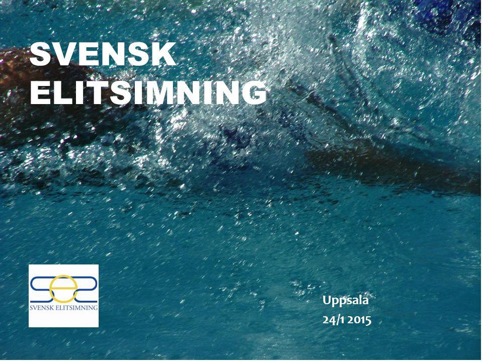 SVENSK ELITSIMNING Uppsala 24/1 2015