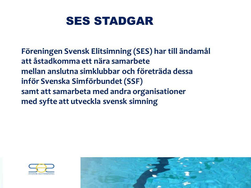 Föreningen Svensk Elitsimning inspirerar, påverkar och ökar samarbetet mellan våra medlemsföreningar.