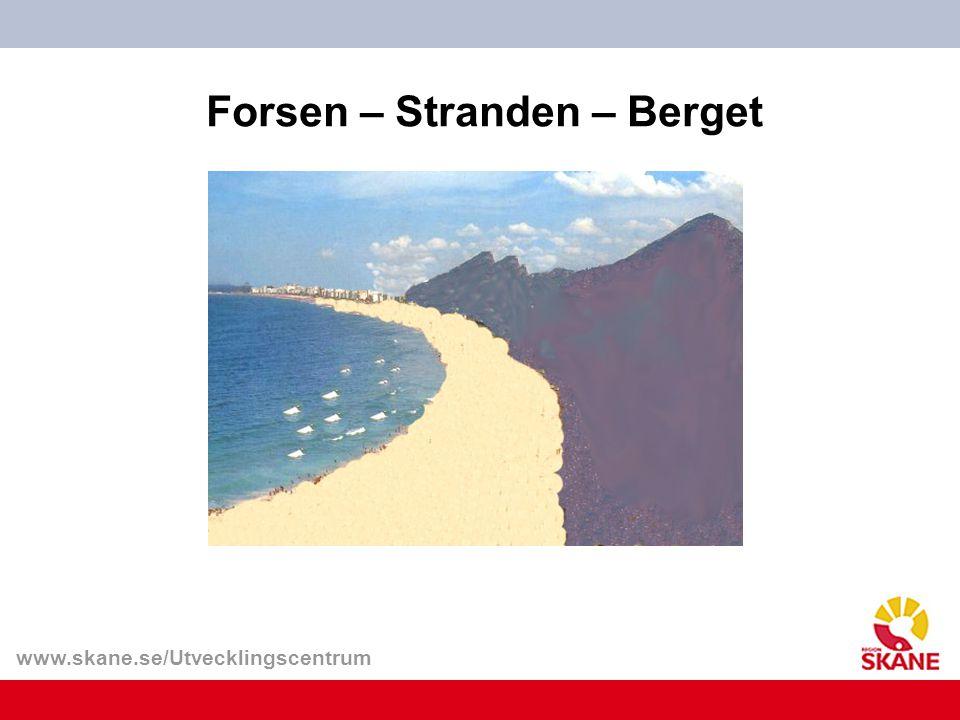 www.skane.se/Utvecklingscentrum Forsen – Stranden – Berget
