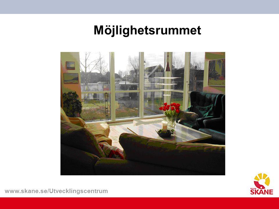 www.skane.se/Utvecklingscentrum Möjlighetsrummet