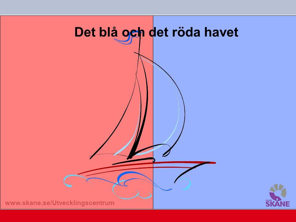 www.skane.se/Utvecklingscentrum Det blå och det röda havet