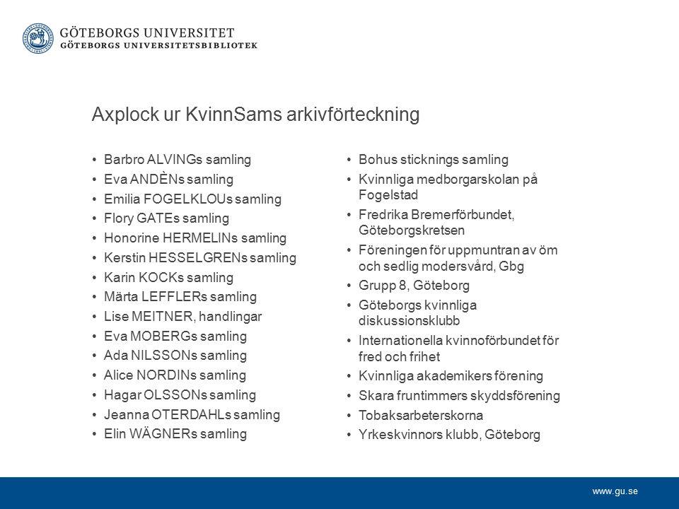www.gu.se Gena – avhandlingar i kvinno-, mans- och genusforskning GENA (GENusAvhandlingar) är en databas som innehåller referenser till svenska doktorsavhandlingar inom kvinno-, mans- och genusforskning.