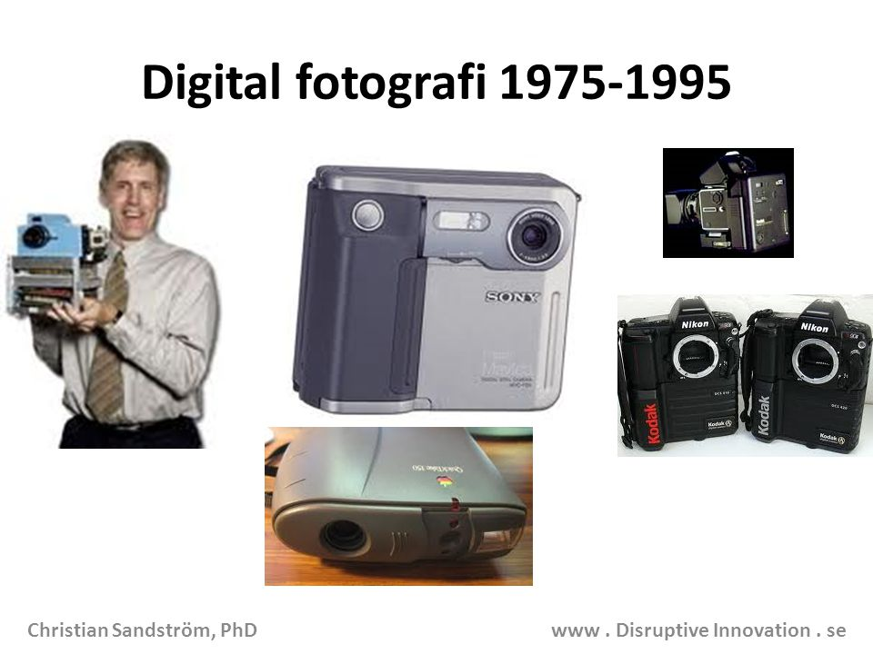 Digital fotografi 1975-1995