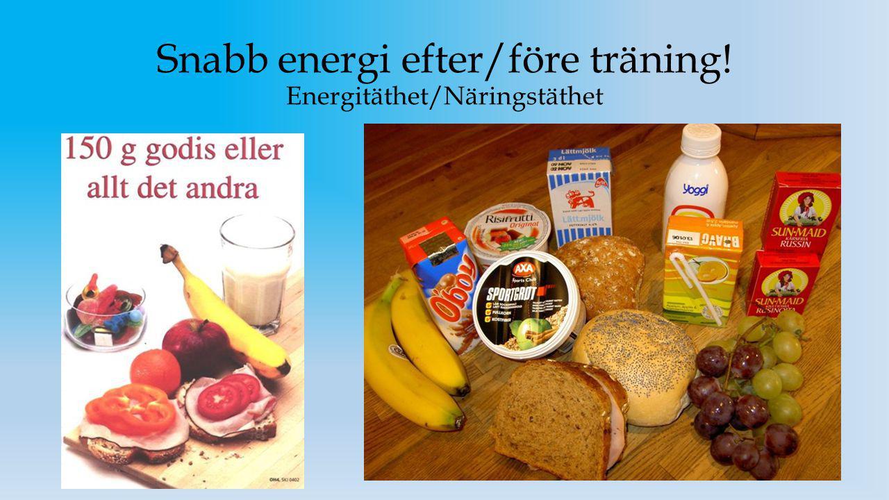 Fettets betydelse för prestation.