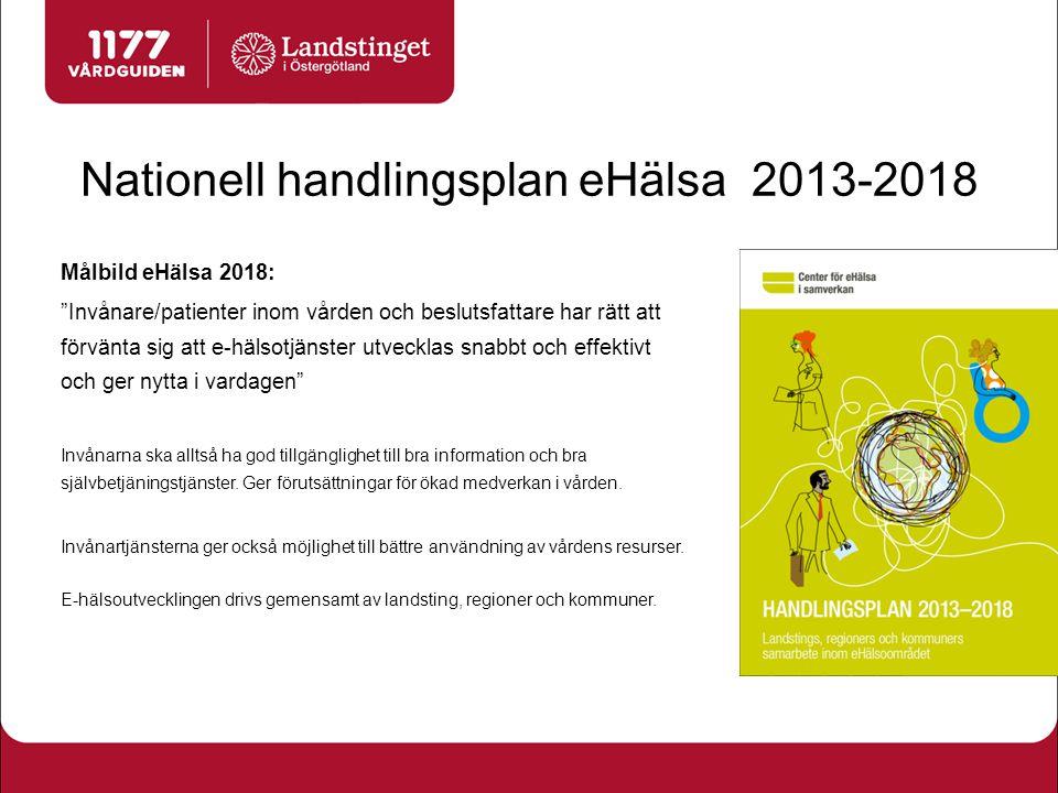 Patientinformation finns på 1177 Vårdguiden