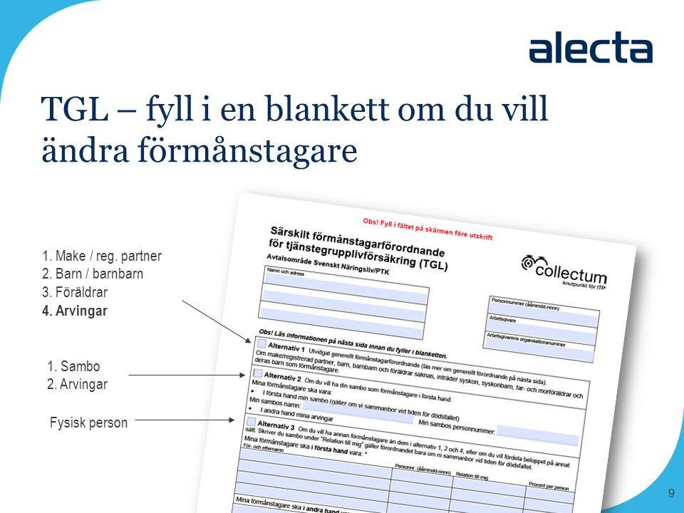10 Enkel information om de olika delarna i din pension www.alecta.se www.collectum.se www.minpension.se www.pensionsmyndigheten.se www.ptk.se