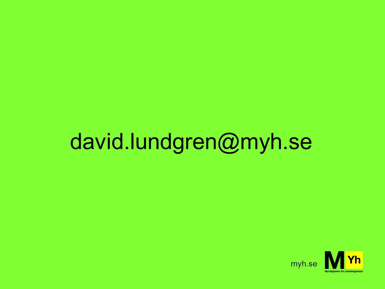 myh.se david.lundgren@myh.se