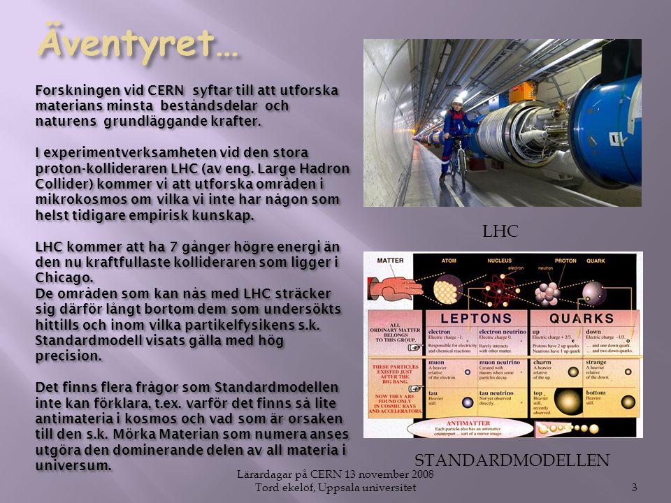 3 LHC STANDARDMODELLEN