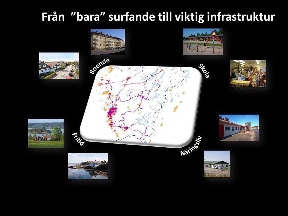 """Från """"bara"""" surfande till viktig infrastruktur"""