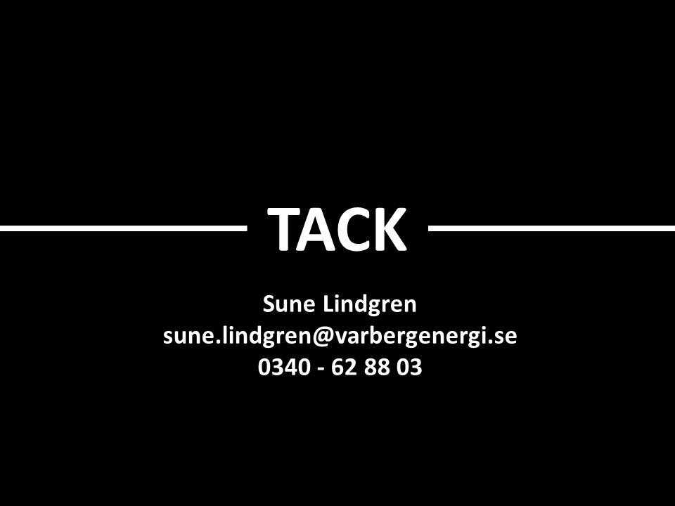 TACK Sune Lindgren sune.lindgren@varbergenergi.se 0340 - 62 88 03