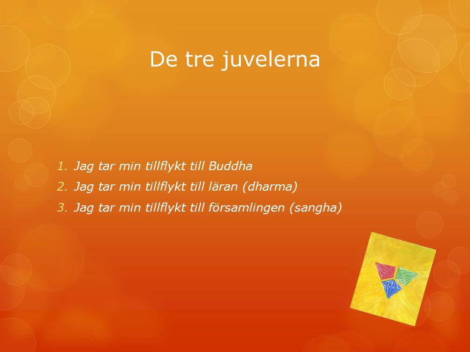 Begrepp  Samsara – det eviga kretsloppet  Karma- gärningarna och deras resultat  Dharma- läran  Dharmas – de beståndsdelar människan och världen består av.