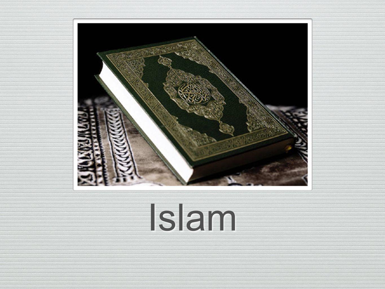 SUNNI-ISLAM ❖ Anser att människor ska leva efter Koranen och Muhammeds sunna.