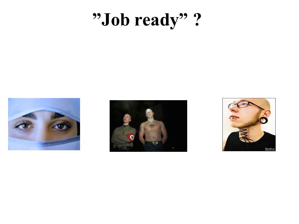 """""""Job ready"""" ?"""