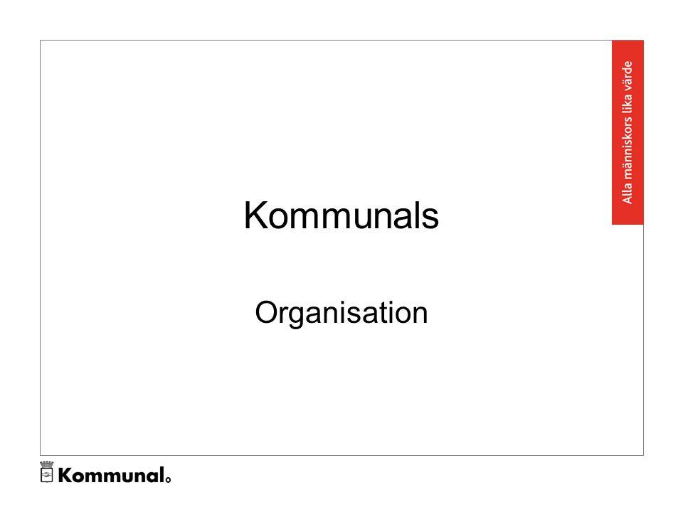Kommunals Organisation