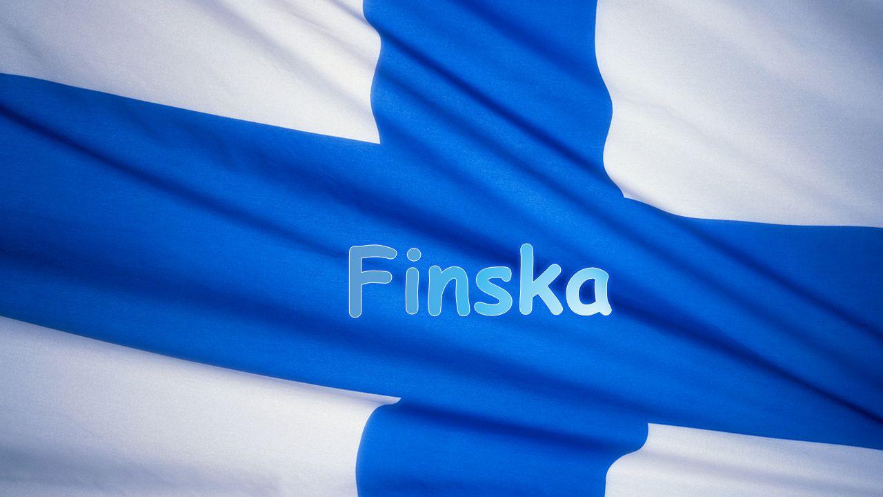 Om finska Finska ingår i uraliska språkgruppen inte i Fornnordiska.