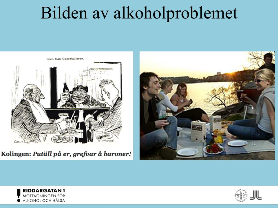 Bilden av alkoholproblemet