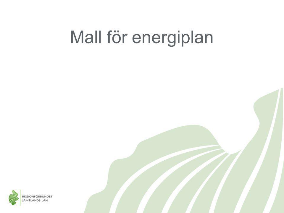 Mall för energiplan