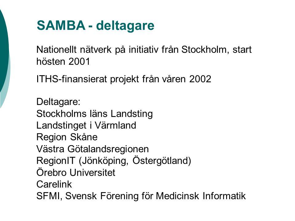 SAMBA  www.sfmi.org/samba