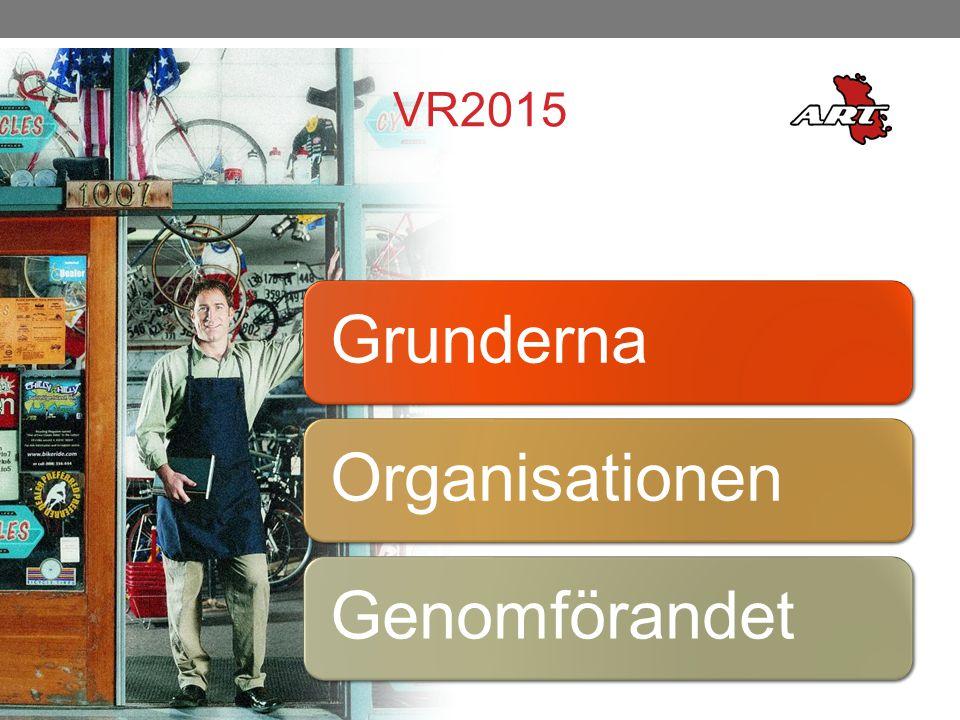 VR2015 GrundernaOrganisationenGenomförandet