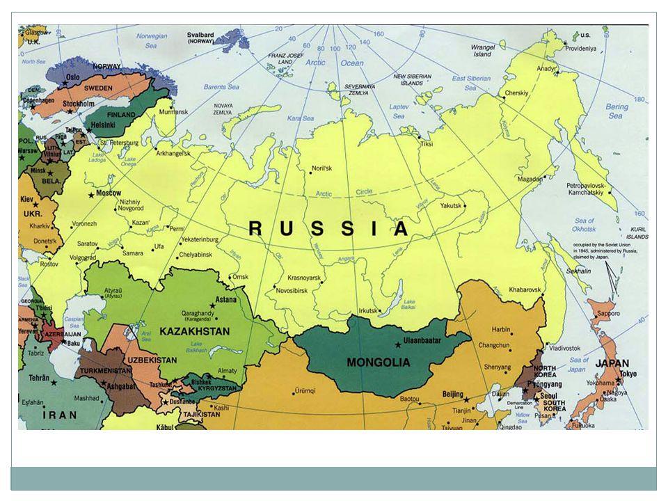 Karta över Gulag-systemet