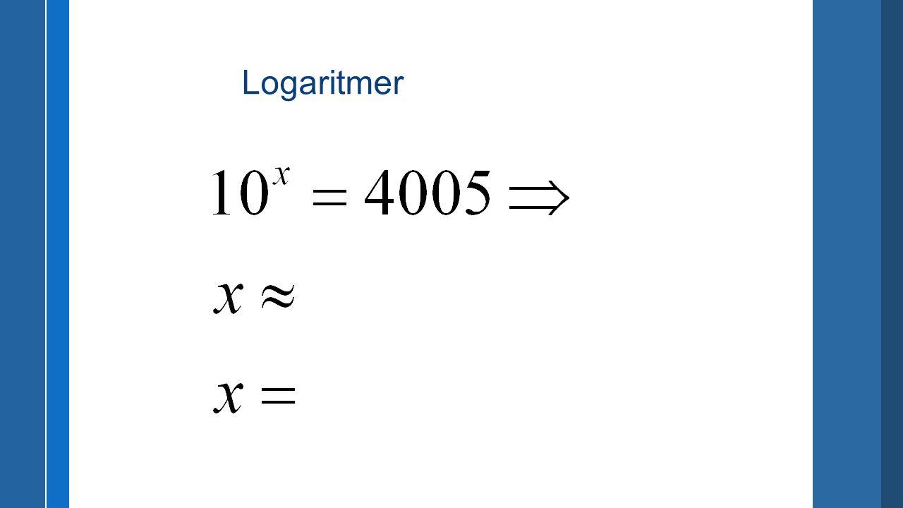 (1)(1) ( 1 ) lg(3×4) = 1,07918124605 --- lg(3)+lg(4) = 1,07918124605 [test] (2) ( 2 ) lg(4/3) = 0,124938736608 --- lg(4)-lg(3) = 0,124938736608 [test] (3)(3) ( 3 ) lg(3^4) = 1,90848501888 --- 4×lg(3) = 1,90848501888 [test]