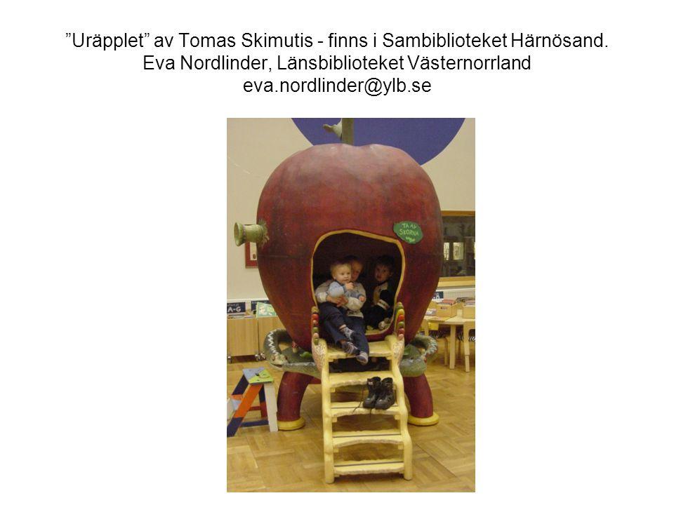 Uräpplet av Tomas Skimutis - finns i Sambiblioteket Härnösand.