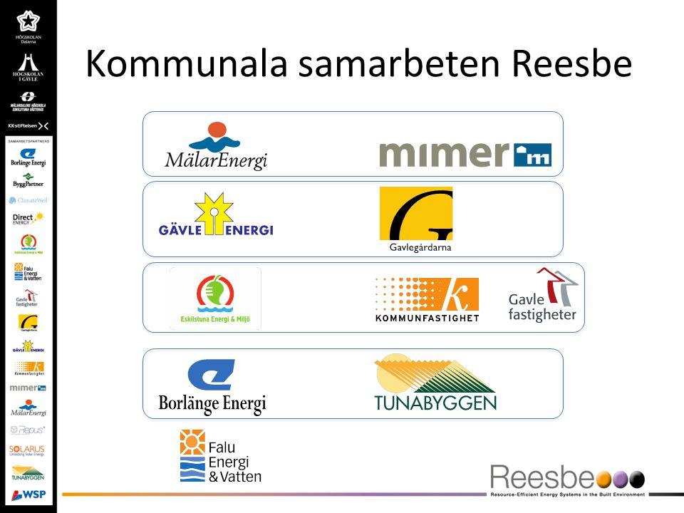 Kommunala samarbeten Reesbe