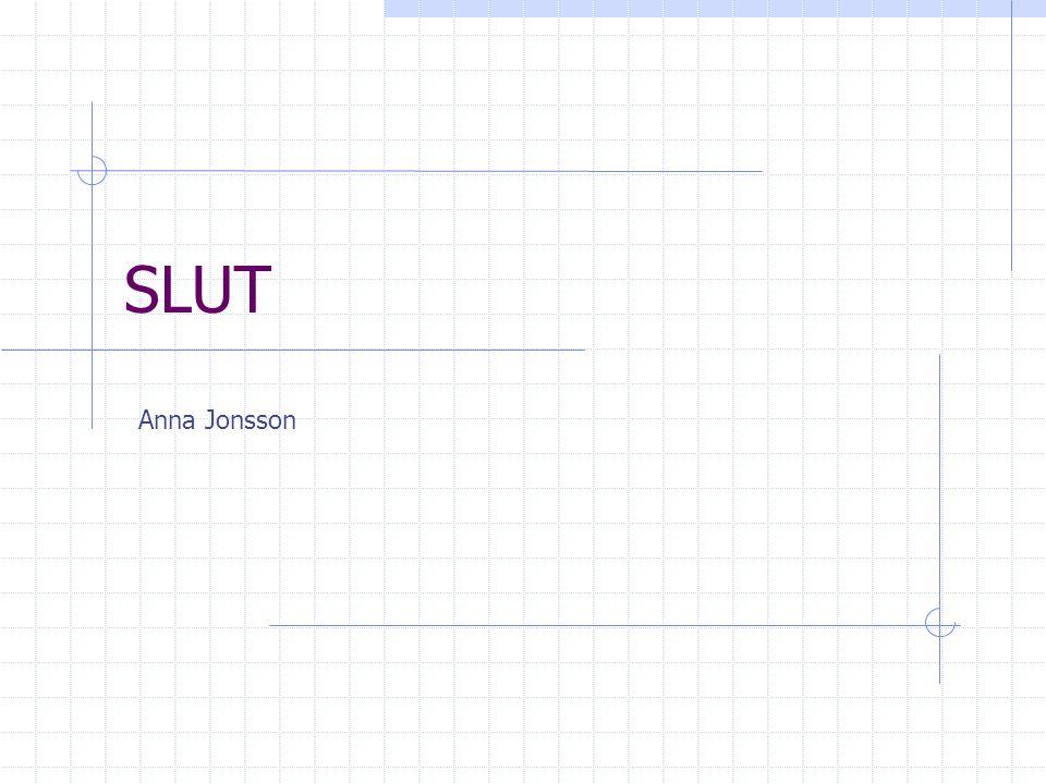 SLUT Anna Jonsson