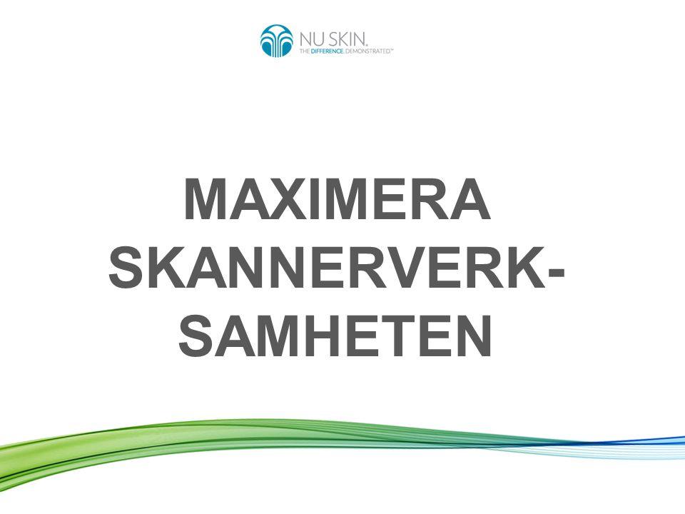 EN AFFÄRSMÖJLIGHET SOM INGEN ANNAN 20072013Ökning Nb Skanneroperatörer i EMEA 471998+112 % Nb Utförda skanningar per mån.
