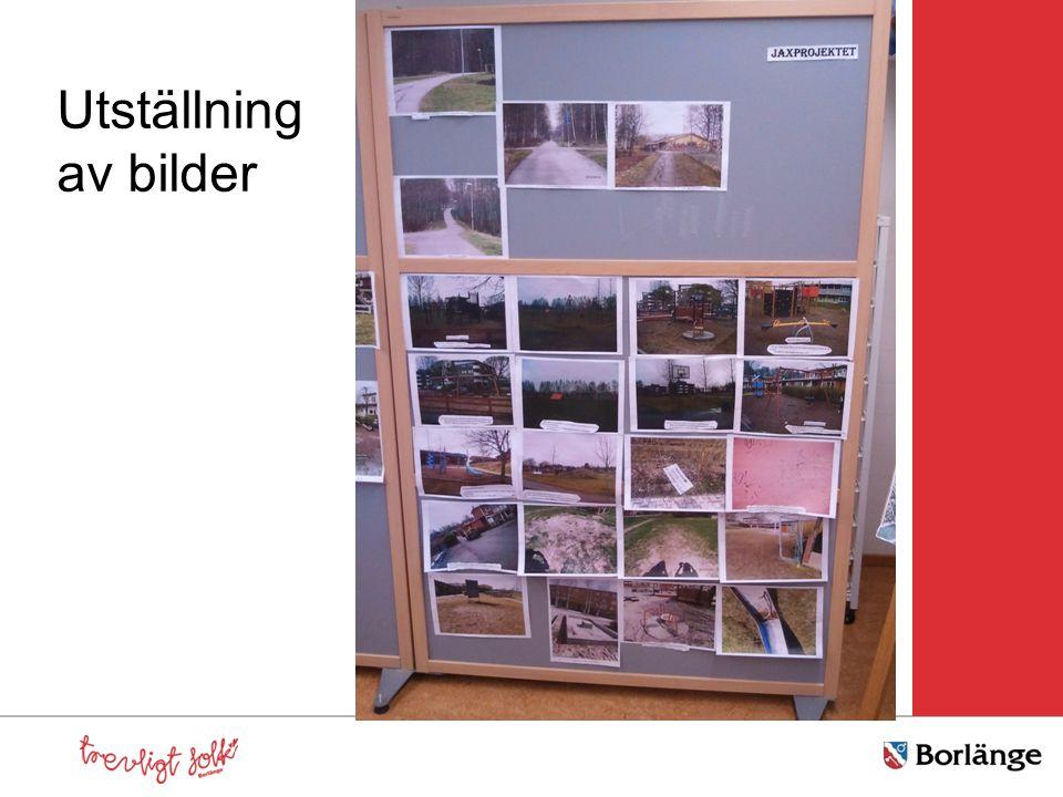 Utställning av bilder