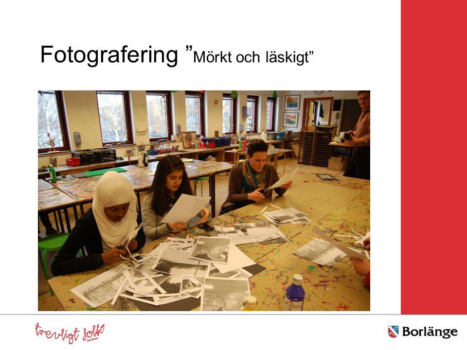 """Fotografering """" Mörkt och läskigt"""""""