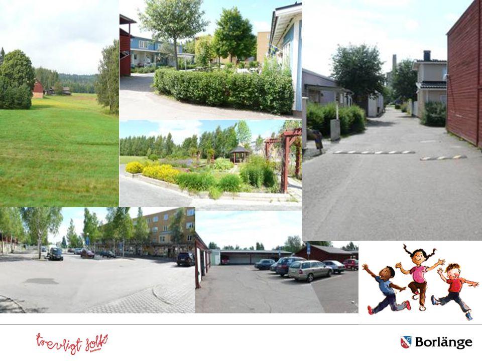 Samarbete med två skolor Nygårdsskolan åk 4 - 6 Maserskolan åk 9 elevens val åk 7 Uppdrag - var man leker - vägen till och från skolan - mötesplatser - kommunikationer - närheten till IKEA-området